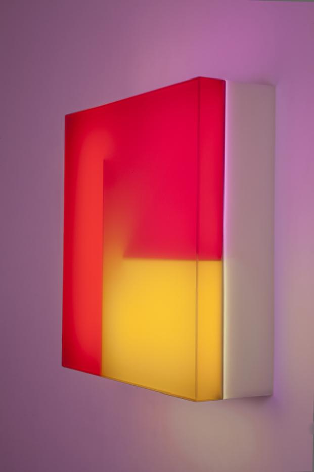 exposicion de luz led de brian eno en madrid