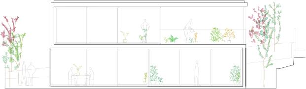 planos de casa en Sant Llorenç del Munt i l'Obac con ventanas de aluminio technal