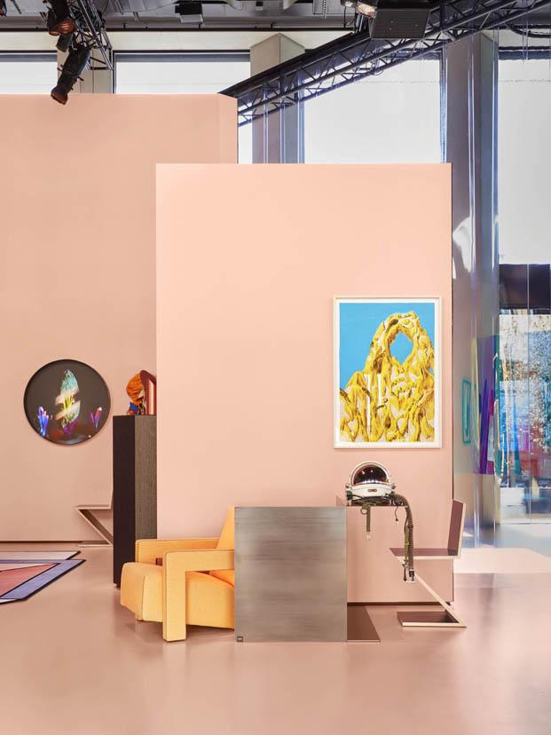cromatismo en la casa del futuro exposicion de cassina en milan