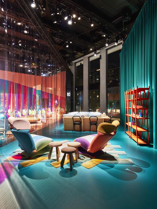 imagen de la expo la cas del futuro de cassina en milan