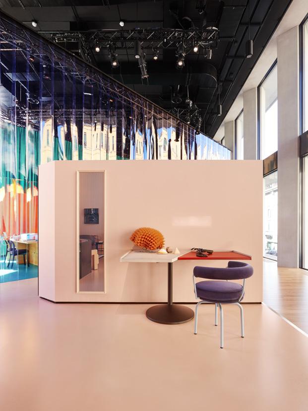 color en la casa del futuro de patricia urquiola par cassina en milan