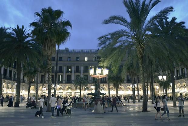 plaza real barcelona fadfest 2017