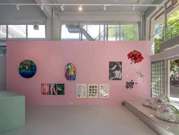 mostrador de Sabine Marcelis en tienda MVRDV en rotterdam