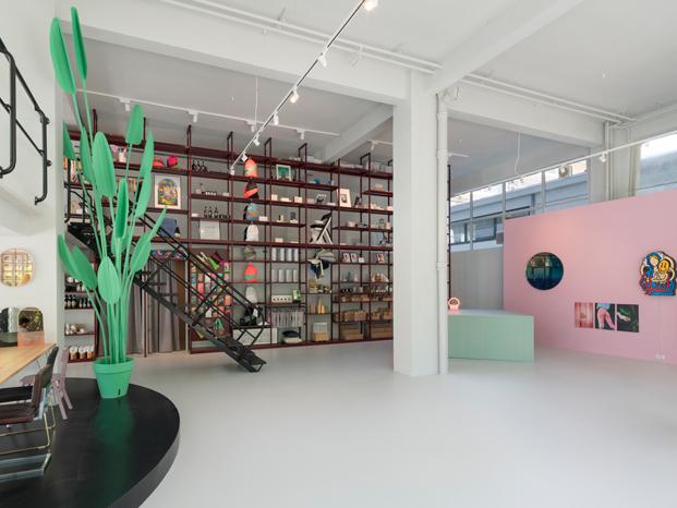 interior tienda MVRDV en rotterdam