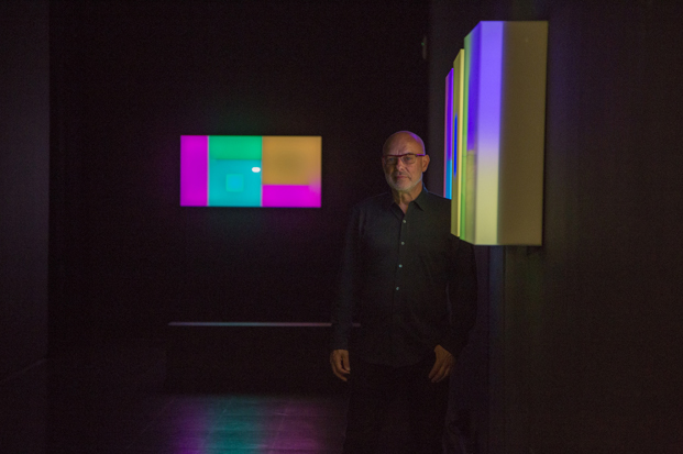 exposicion Lightforms Soundforms Brian Eno Barcelona diariodesign