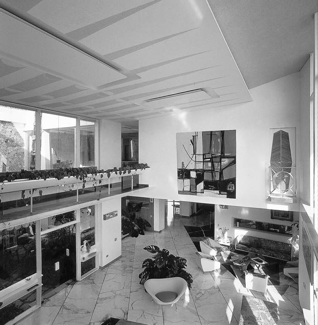 viviendas milanesas en la exposicion gio ponti en minim barcelona