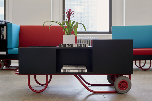 mesa de centroruedas para muebles push pull