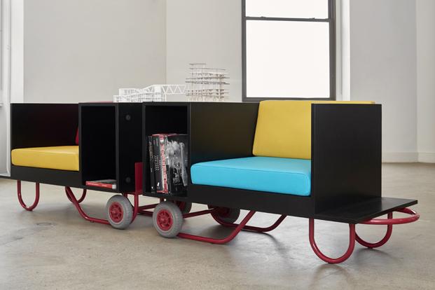 coleccion push pull butacas con ruedas para muebles