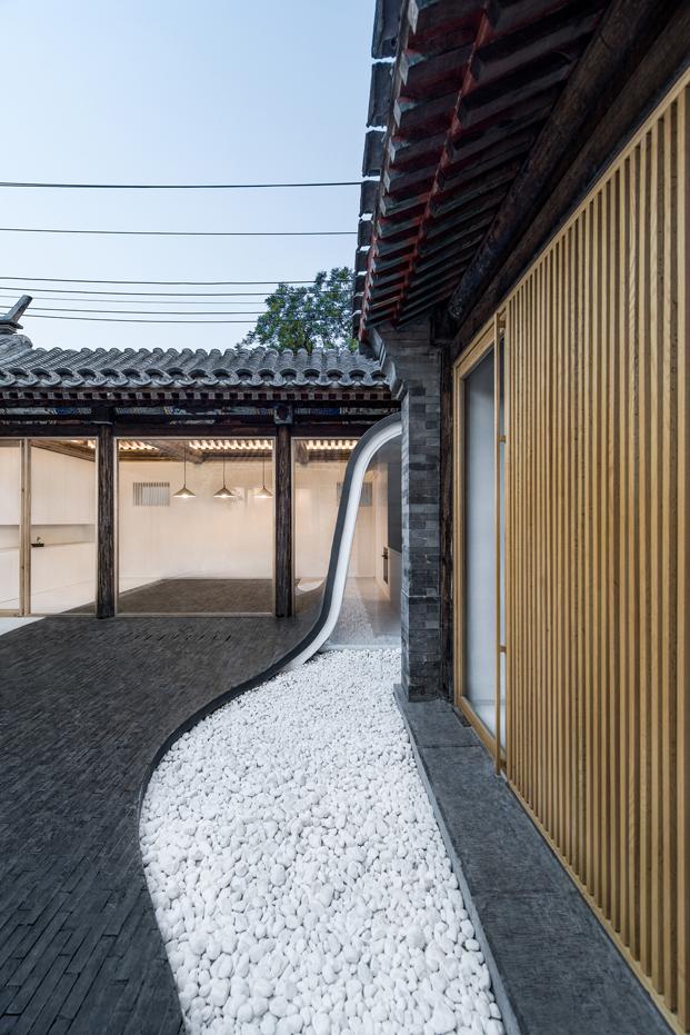 moderna casa china en pekin por Archstudio arquitectos