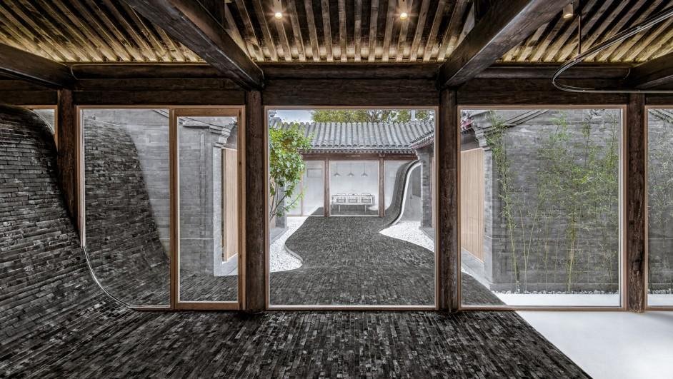 casa Twisting Courtyard ARCHSTUDIO en Pekin diariodesign