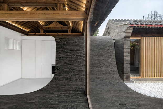 original pavimento de una casa china por Archstudio arquitectos
