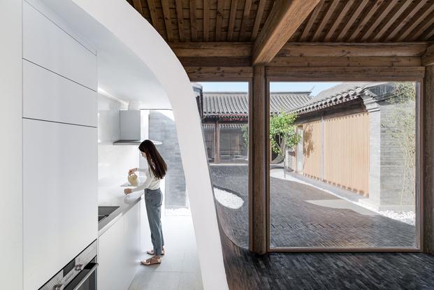 casa china de Archstudio arquitectos en pekin