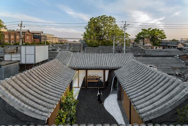 tejados de casa china