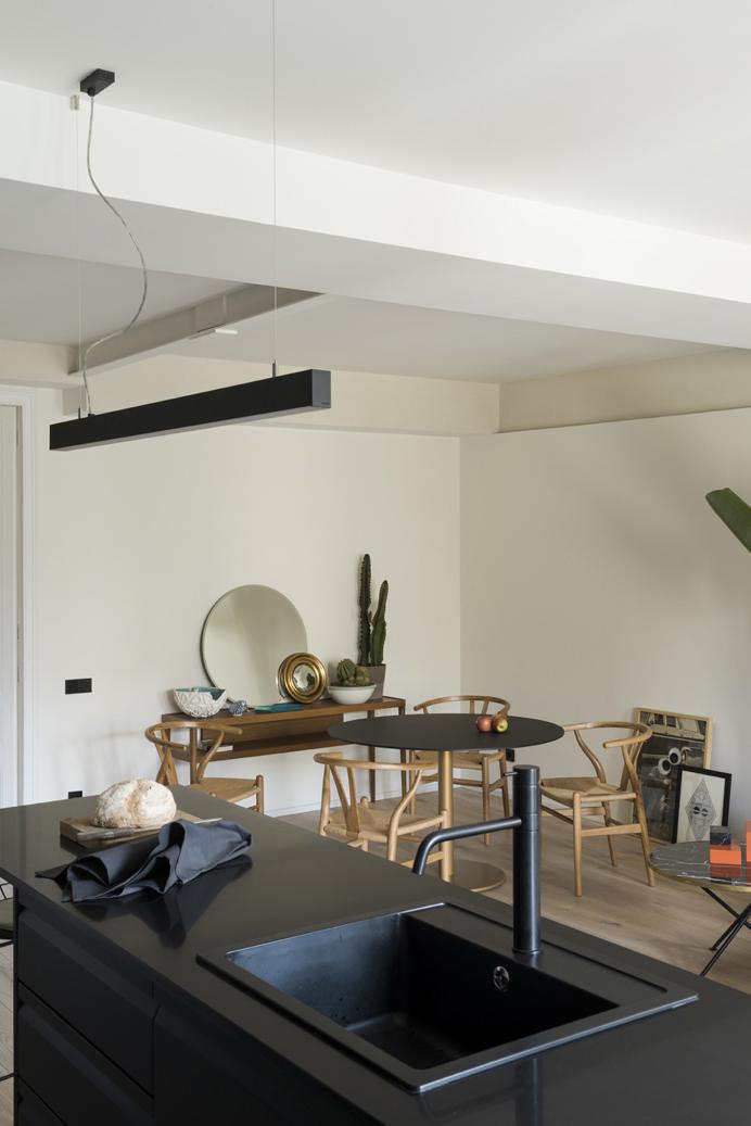 diseño nordico en un pequeño apartamento