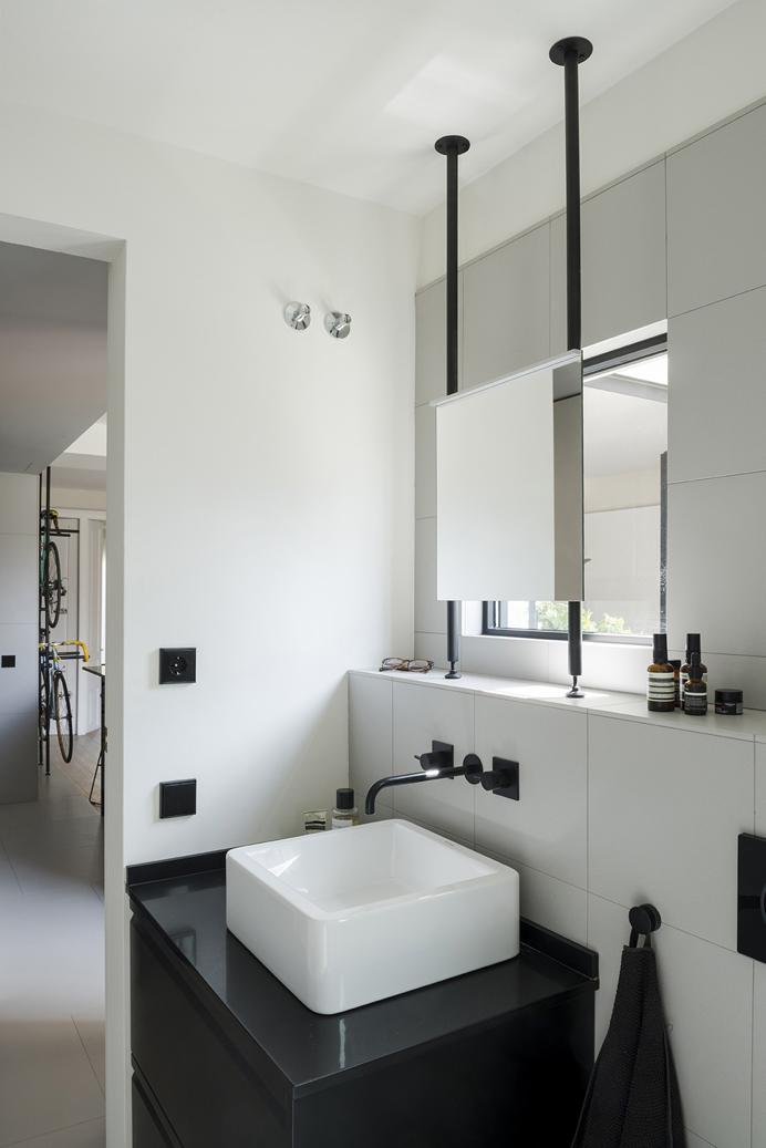 baño en pequeño apartamento
