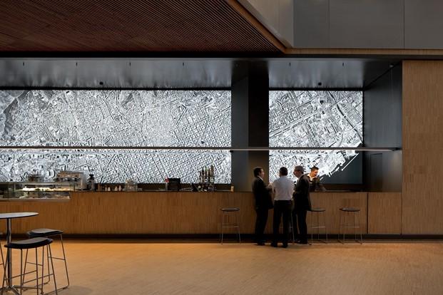 Recepción diseño de Jordi Badia master diseno interiores en eina