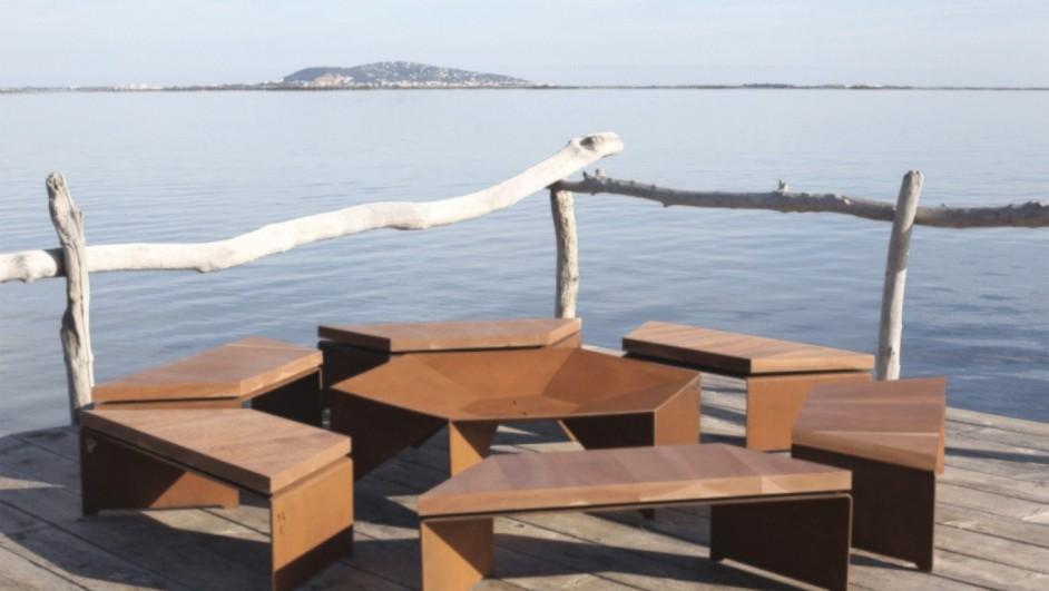 Barbacoa de diseño contemporaneas de Les Choses
