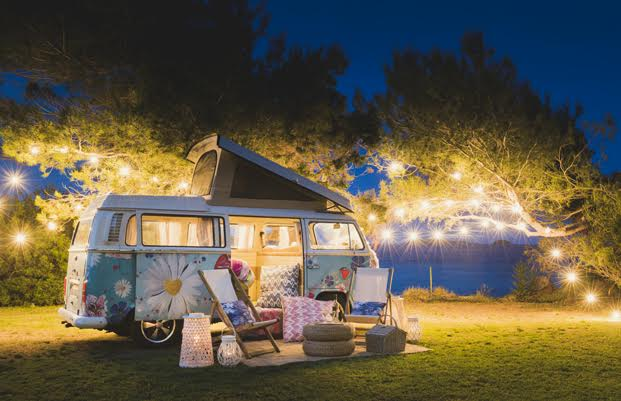 furgoneta Volkswagen de desigual living campervan diariodesign