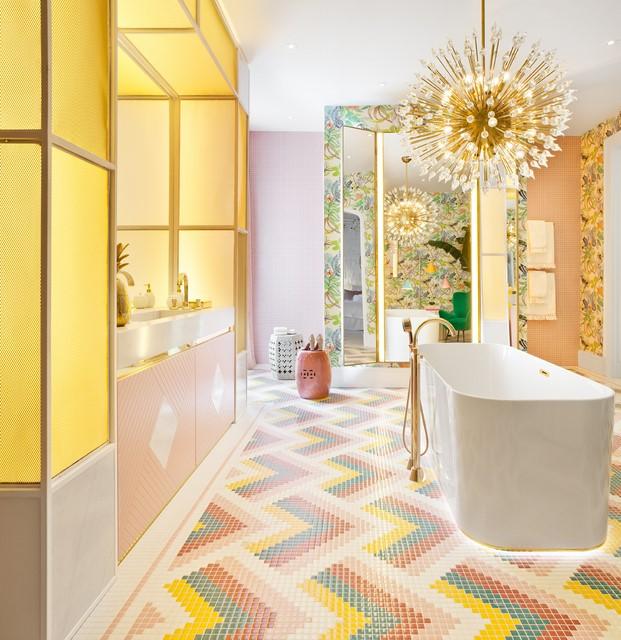 baño en casa decor y sistemas de domótica
