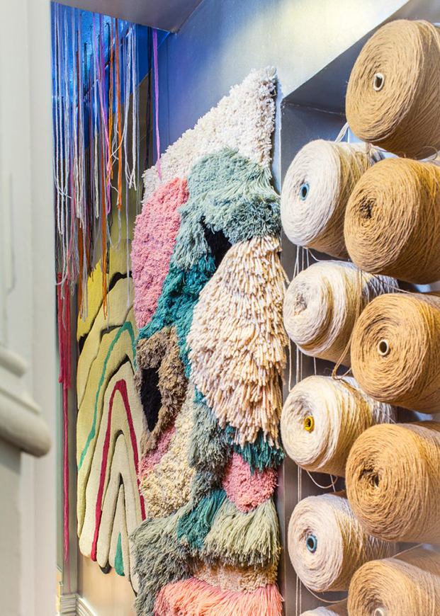 alfombras en casa decor 2017 de Dafne Vijande