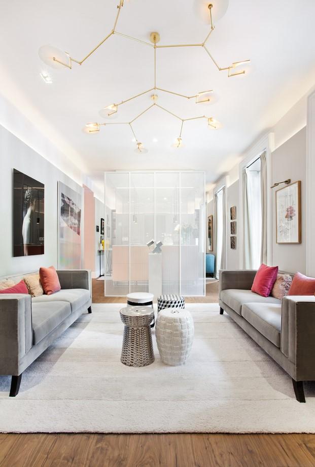ambiente en casa decor por estudio alegria con sistema domótica de jung
