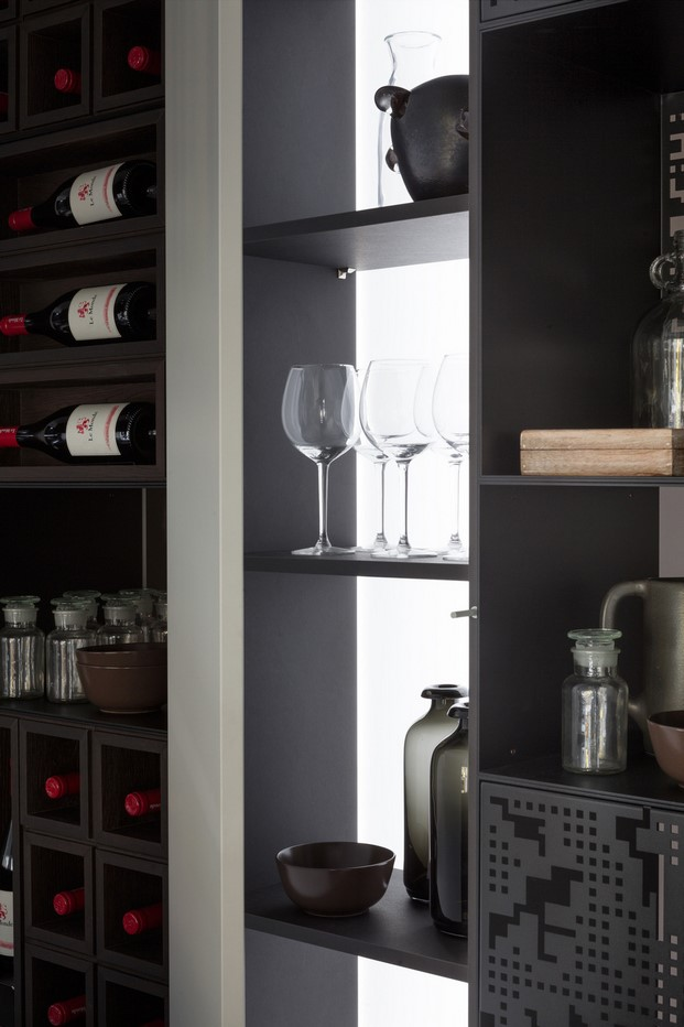 detalle de la cocina modular the cut evolution
