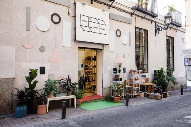 interiorismo en madrid  tienda en madrid Báltico Tienda Estudio  Instalación de Maria Orrego Arquitecta