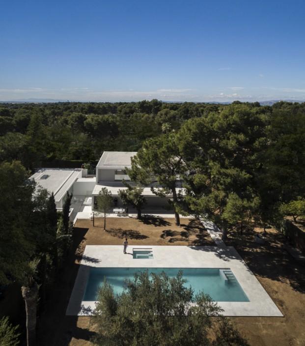 Fran Silvestre arquitectos casa en valencia