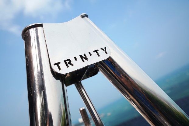 logotipo Hamacas de Trinity en diariodesign