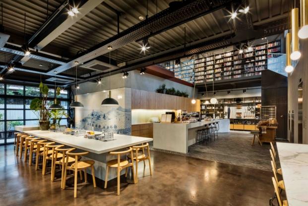 cafeteria de la biblioteca en seul de Blacksheep