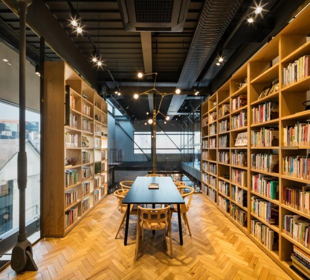 sala de recetas de biblioteca en seul