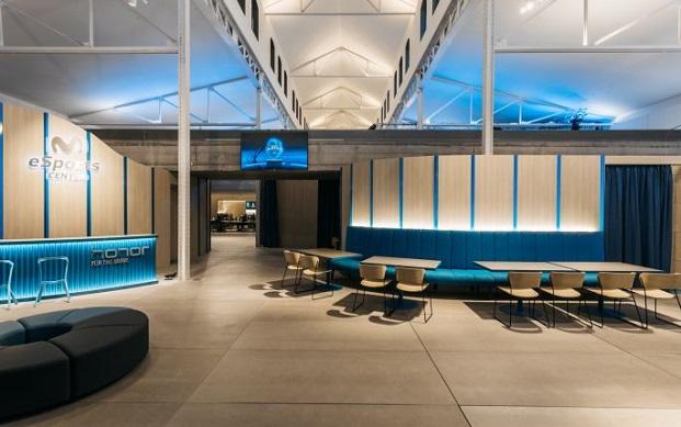 Movistar Gaming Center esports center de stone designs