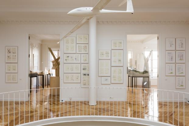 coleccion en la nueva sede de la norman foster foundation en madrid