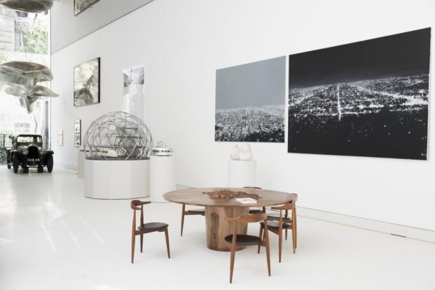 fotografias y esculturas en la norman fuoster foundation en madrid