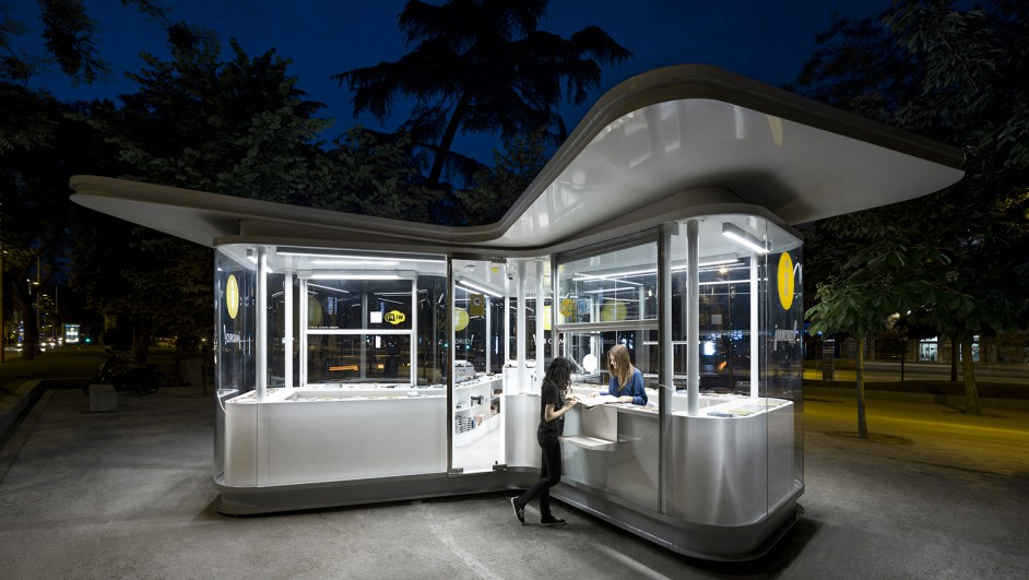premios de arquitectura porcelanosa Quioscos José Manuel Sanz Arquitectos