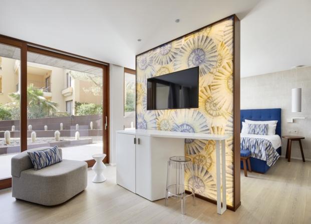 interior complejo hotelero segundo premios de arquitectura porcelanosa