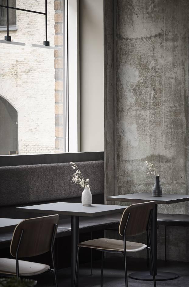mesas restaurante en copenhague naervaer de norm architects