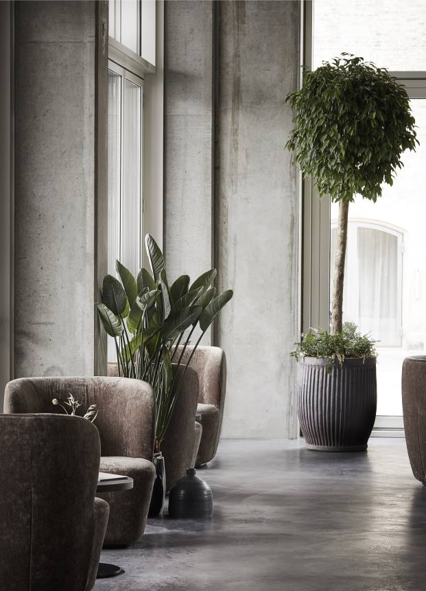 plantas restaurante en copenhague naervaer de norm architects