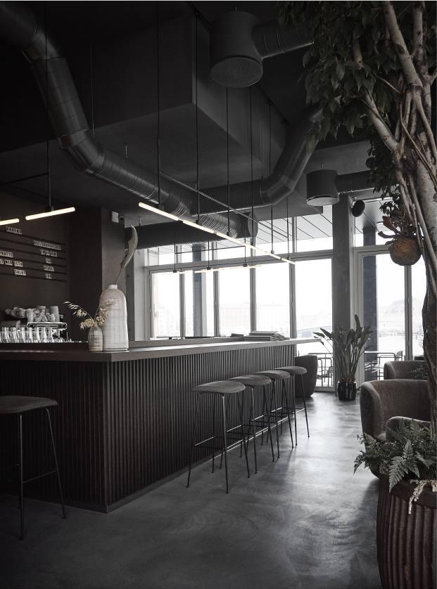 estetica industrial restaurante en copenhague naervaer de norm architects