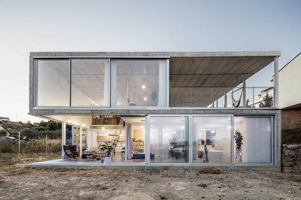 casa unfinished de narch como es una casa moderna diariodesign