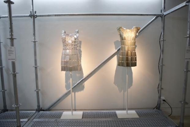vestidos expo en madrid de paco rabanne