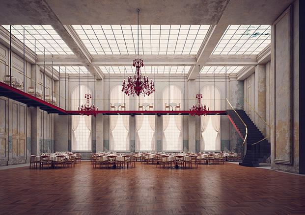 salon de baile hotel Williamsburg en Nueva York