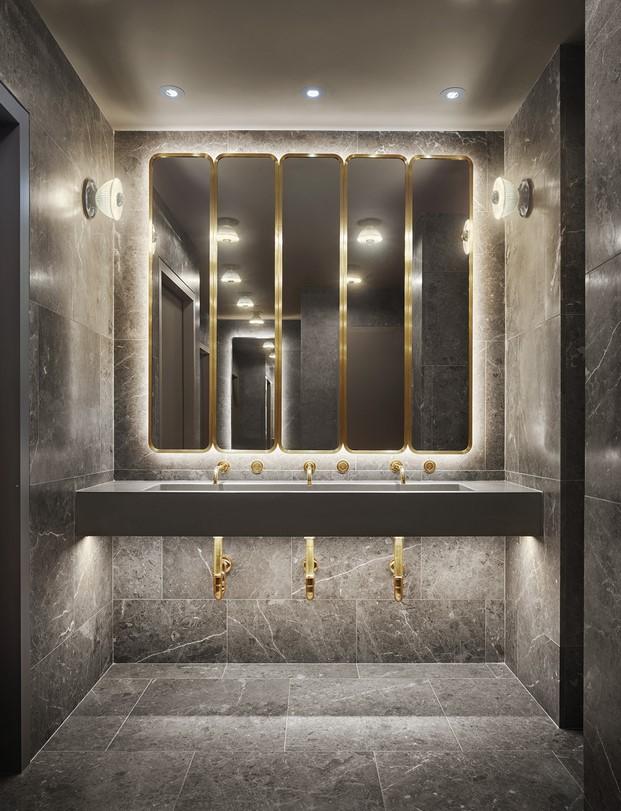 baño 11 howard hotel nueva york diariodesign