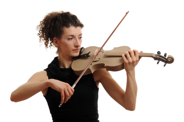 imprimir en 3d violin en fundacion telefonica
