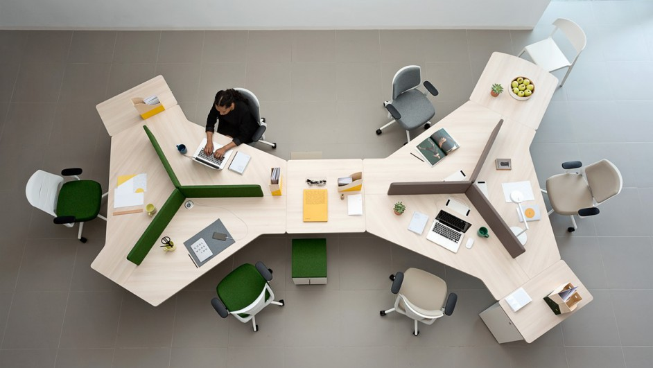 mobiliario de oficina Actiu twist Actiu silla plek premio nacional de diseño diariodesign