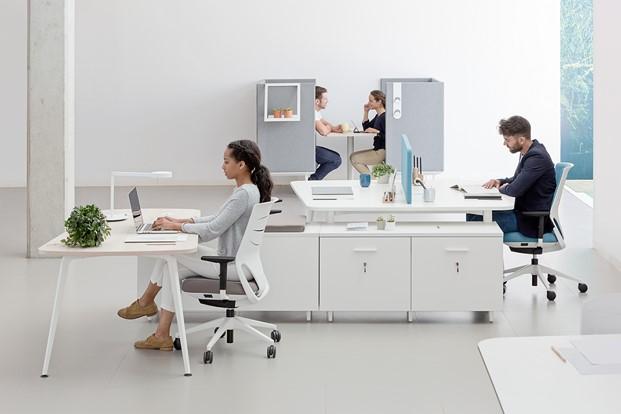 Mobiliario de oficina actiu premio nacional de dise o for Mobiliario de oficina bilbao