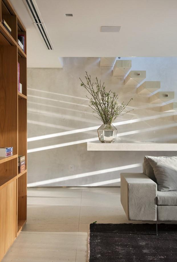 salon pequeño dúplex BC Architecs RIO