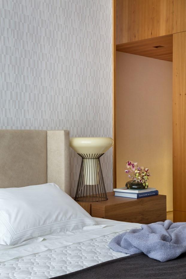 dormitorio pequeño dúplex BC Architecs en Brasil