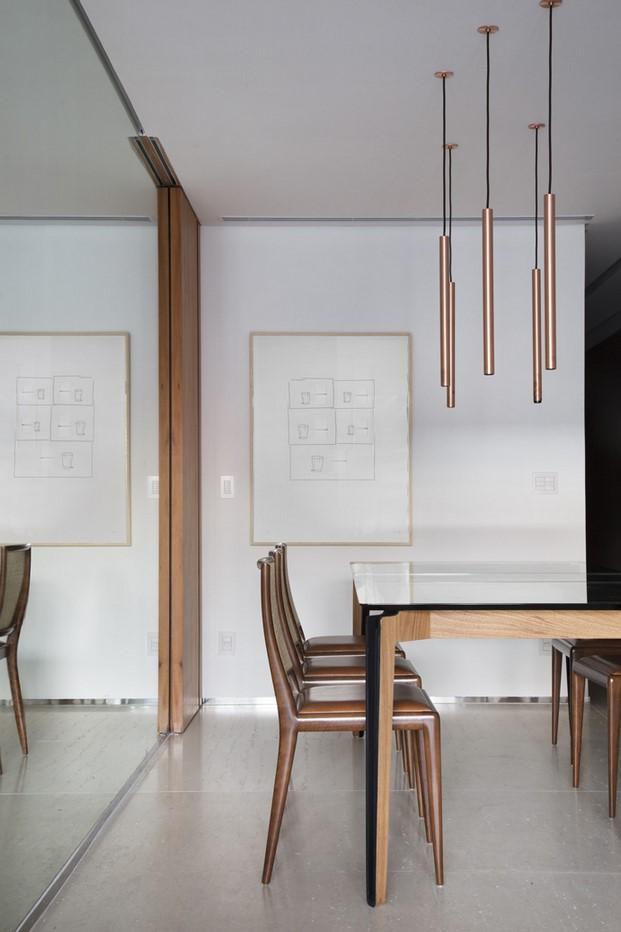 comedor pequeño dúplex BC Architecs en Brasil