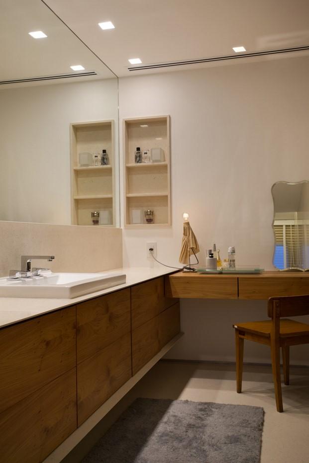 baño pequeño dúplex BC Architecs en Brasil